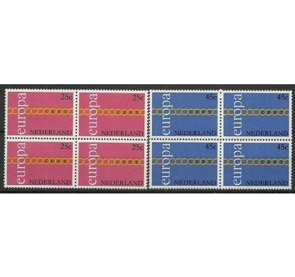 Znaczek Holandia 1971 Mi 963-964 Czyste **