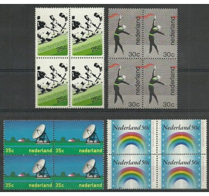 Znaczek Holandia 1973 Mi 1013-1016 Czyste **
