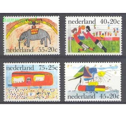 Znaczek Holandia 1976 Mi 1088-1091 Czyste **