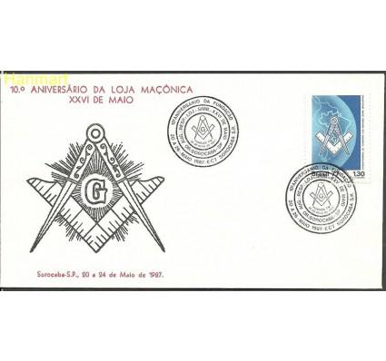 Znaczek Brazylia 1977 Mi 1608 FDC