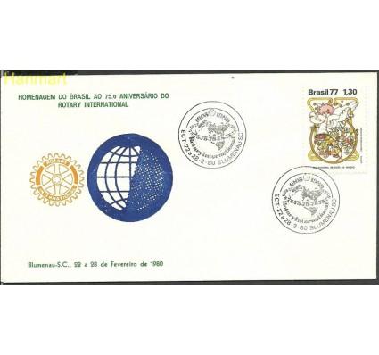 Znaczek Brazylia 1977 Mi 1632 FDC