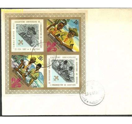 Znaczek Burundi 1968 Mi bl25B FDC