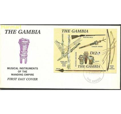Znaczek Gambia 1987 Mi bl31 FDC