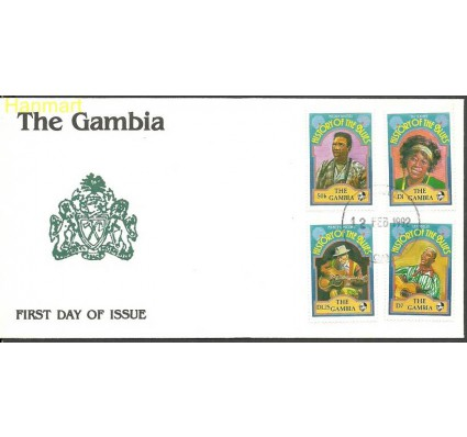 Znaczek Gambia 1992 Mi 1302+1304-1305+1310 FDC