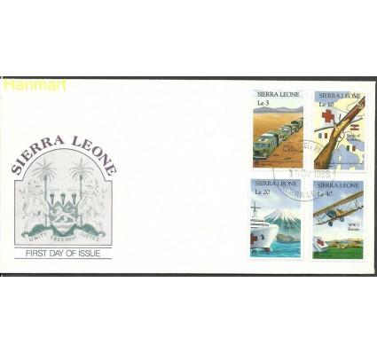 Znaczek Sierra Leone 1988 Mi 1127-1130 FDC