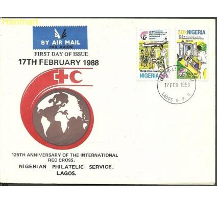 Znaczek Nigeria 1988 Mi 513-514 FDC