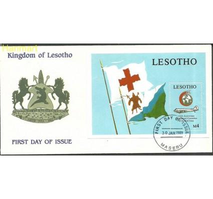 Znaczek Lesotho 1989 Mi bl59 FDC