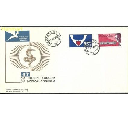 Znaczek Republika Południowej Afryki 1969 Mi 382-383 FDC