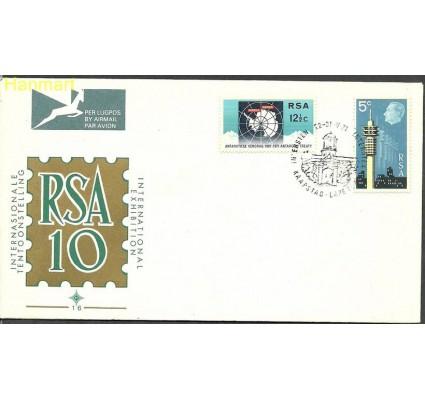 Znaczek Republika Południowej Afryki 1971 Mi 403-404 FDC