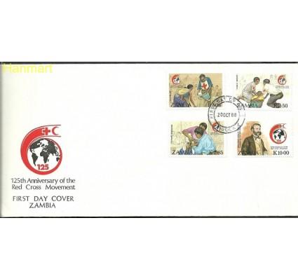 Znaczek Zambia 1988 Mi 456-459 FDC