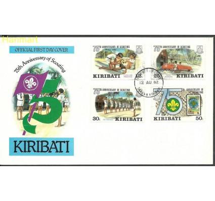 Znaczek Kiribati 1982 Mi 408-411 FDC