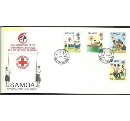 Znaczek Samoa 1989 Mi 681-684 FDC