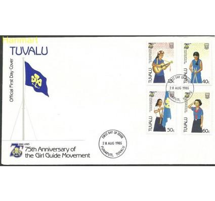 Znaczek Tuvalu 1985 Mi 322-325 FDC