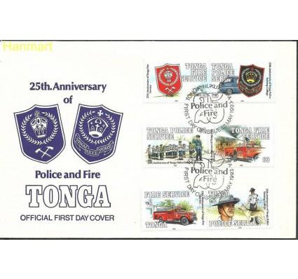 Znaczek Tonga 1993 Mi 1280-1285 FDC