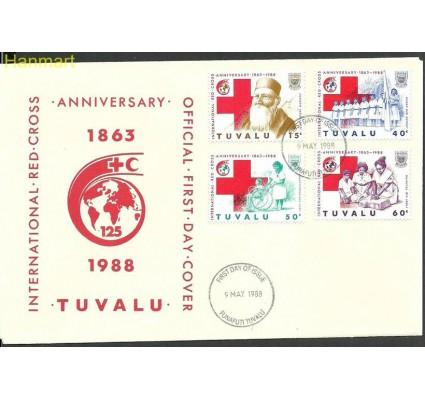 Znaczek Tuvalu 1988 Mi 506-509 FDC