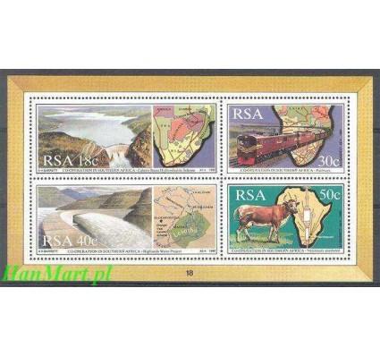 Znaczek Republika Południowej Afryki 1990 Mi bl 24 Czyste **