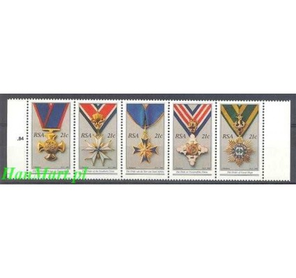 Republika Południowej Afryki 1990 Mi 808-812 Czyste **