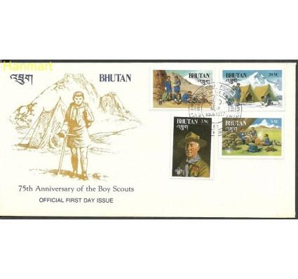 Znaczek Bhutan 1982 Mi 776-779 FDC