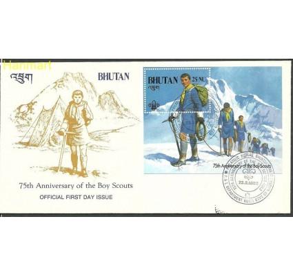 Znaczek Bhutan 1982 Mi bl 90 FDC