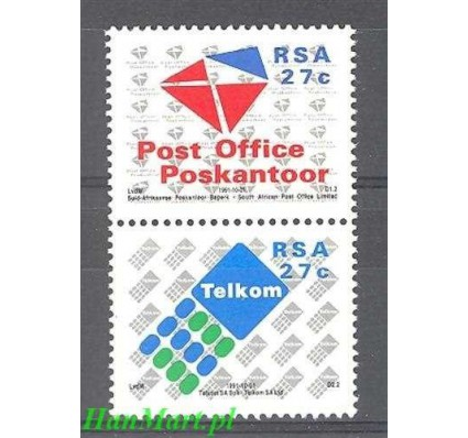 Republika Południowej Afryki 1991 Mi 823-824 Czyste **