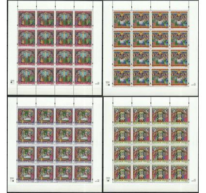 Znaczek Polska 2000 Mi ark 3869-3872 Fi ark 3721-3724 Czyste **