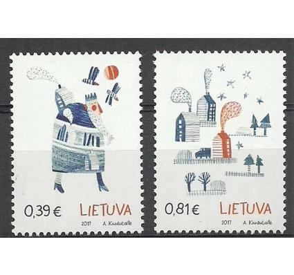 Znaczek Litwa 2017 Mi 1263-1264 Czyste **