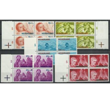 Znaczek Holandia 1966 Mi 866-870 Czyste **