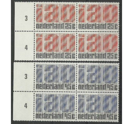Znaczek Holandia 1969 Mi 912-913 Czyste **