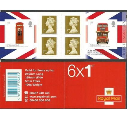 Znaczek Wielka Brytania 2009 Mi mh O-307 Czyste **