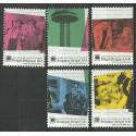 Belgia 2003 Mi 3262-3266 Czyste **