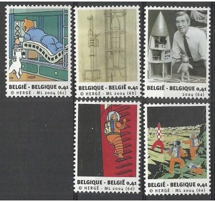 Znaczek Belgia 2004 Mi 3298-3302 Czyste **