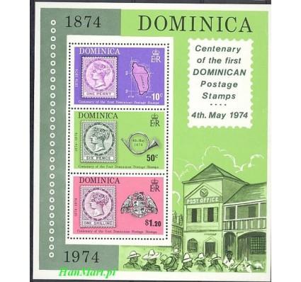 Dominika 1974 Mi bl 24 Czyste **