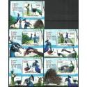 Komory 2011 Mi 3018-3022 Czyste **