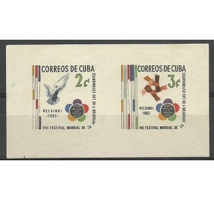 Znaczek Kuba 1962 Mi bl 22 Czyste **