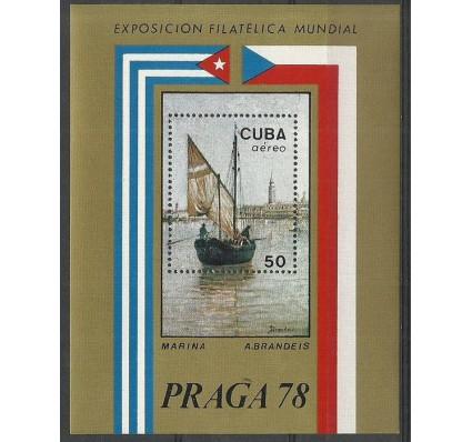 Znaczek Kuba 1978 Mi bl 55 Czyste **