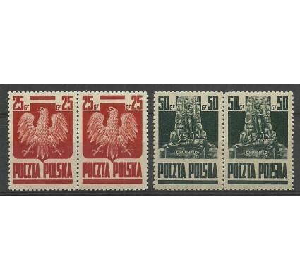 Znaczek Polska 1944 Mi 383-384 Fi 342-343 Czyste **