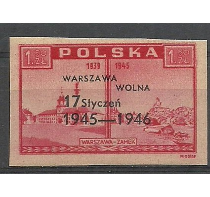 Znaczek Polska 1946 Mi 421 Fi 388 Czyste **