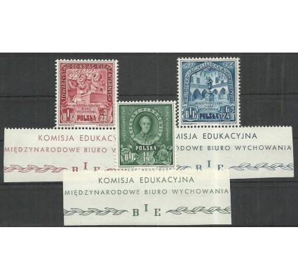 Znaczek Polska 1946 Mi 445-447 Fi 412-414 Czyste **