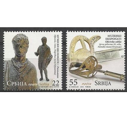 Znaczek Serbia 2012 Mi 474-475 Czyste **