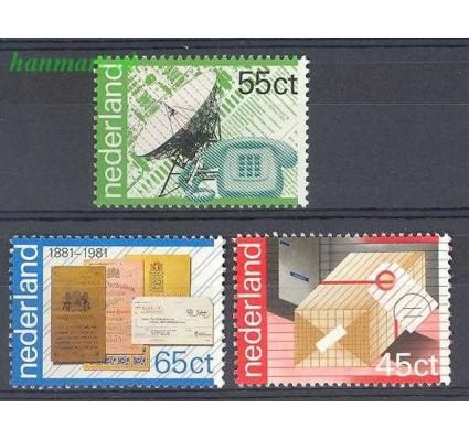 Holandia 1981 Mi 1180-1182 Czyste **