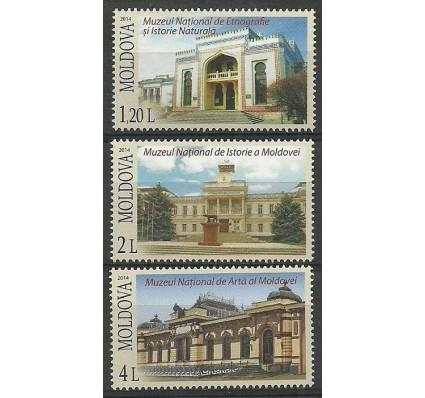 Znaczek Mołdawia 2014 Mi 866-868 Czyste **