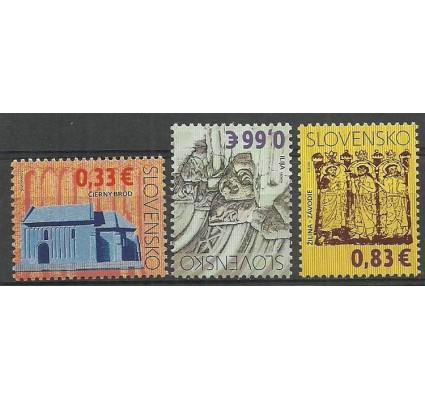 Znaczek Słowacja 2009 Mi 605-607 Czyste **
