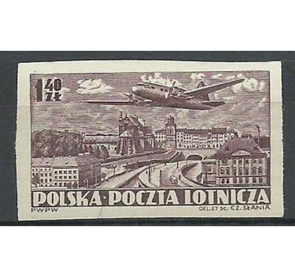 Znaczek Polska 1952 Mi 730B Fi 592A Czyste **
