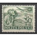 Polska 1952 Mi 770 Fi 632 Czyste **