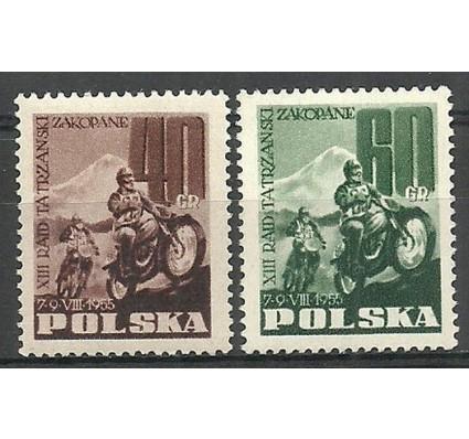 Znaczek Polska 1955 Mi 928A-929C Fi 786-787 Czyste **