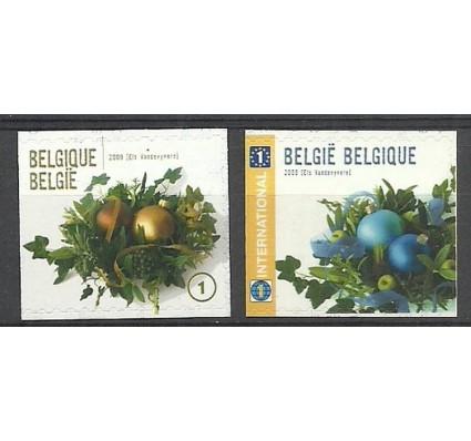 Znaczek Belgia 2009 Mi 4027-4028Dl Czyste **