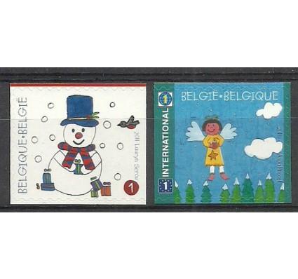 Znaczek Belgia 2011 Mi 4238Dr-4239Dl Czyste **