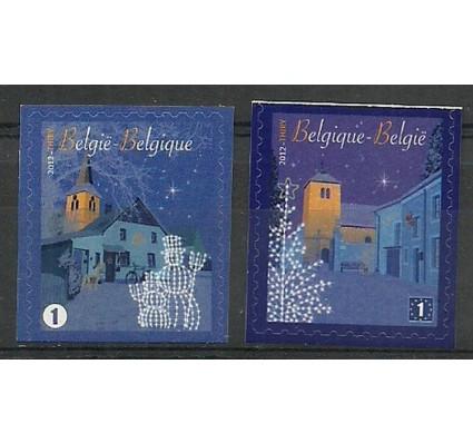 Znaczek Belgia 2012 Mi 4336Du-4337Do Czyste **