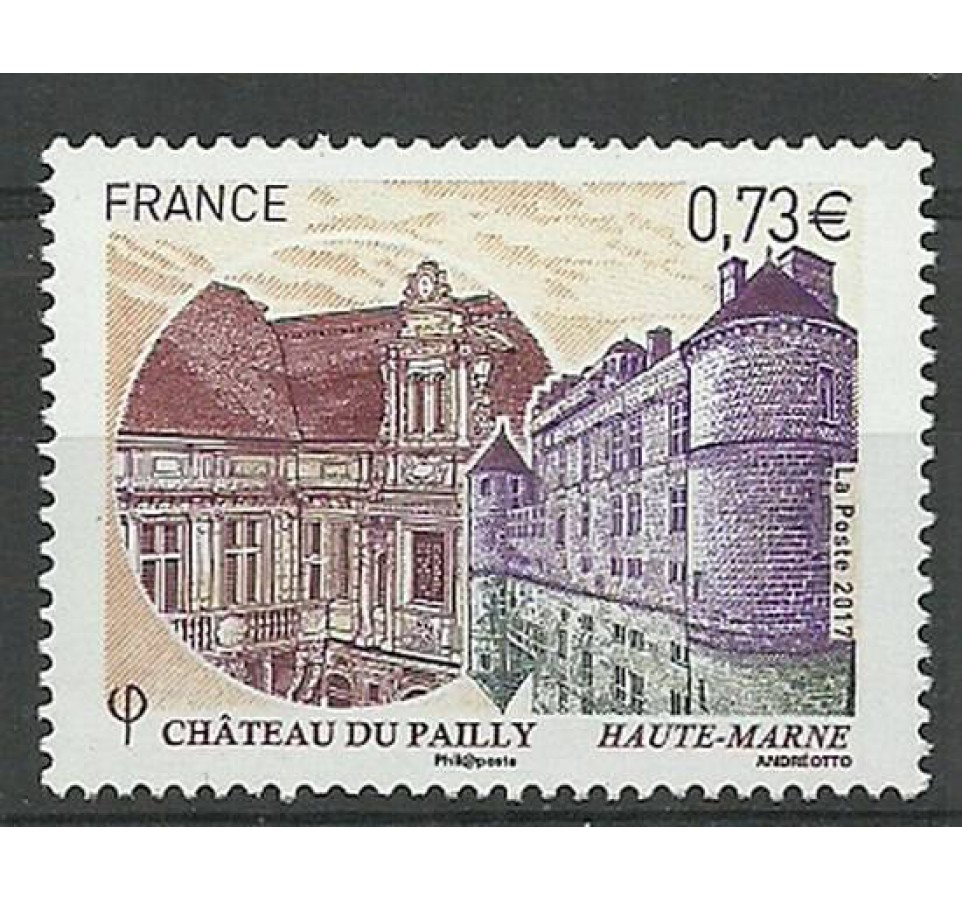 Francja 2017 Mi 6666 Czyste **