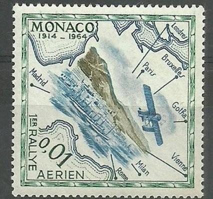 Znaczek Monako 1964 Mi 756 Czyste **